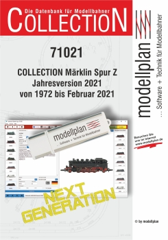 COLLECTION Spur Z Jahresversion 2021 auf USB-Stick {#71021u}